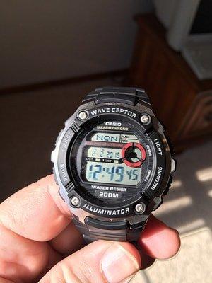 waveceptor watch by casio