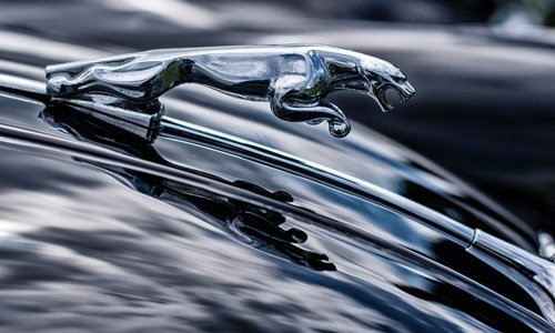 jaguar car hood ornament