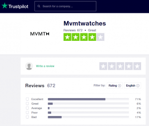mvmt watch review summary
