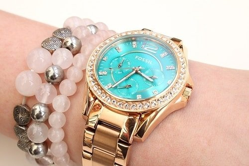 womens watch turquoise face