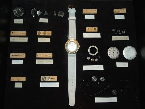 Disassembled Mechanical Watch