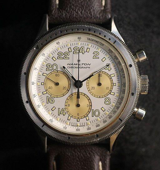 Hamilton chronograph
