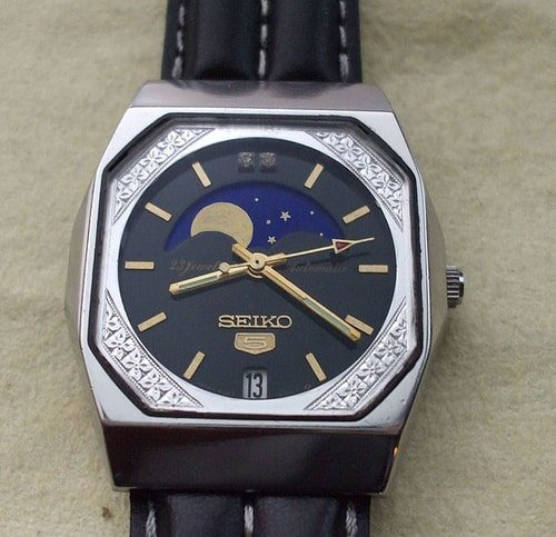 Seiko Moon Phase Watch