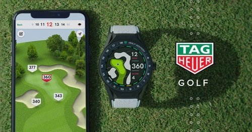 golf watch and phone app