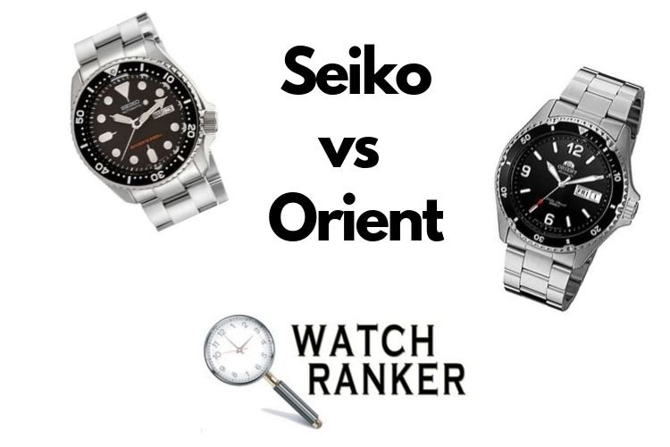 seiko and orient watches