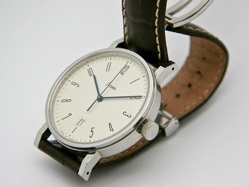 Stowa Antea Bauhaus Leather watch