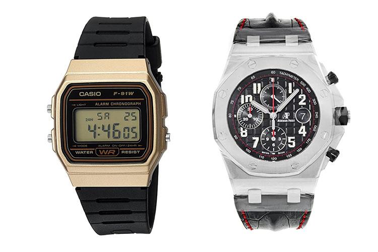 Watches worn on Mr. Robot