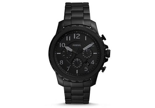 Fossil Bowman Chronograph Black Stainless Steel (FS5603P)