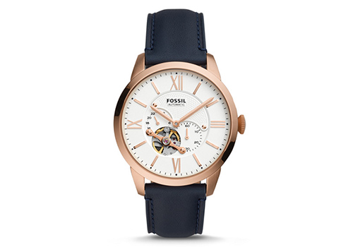 Fossil Townsman Automatic Navy Leather (ME3171P)