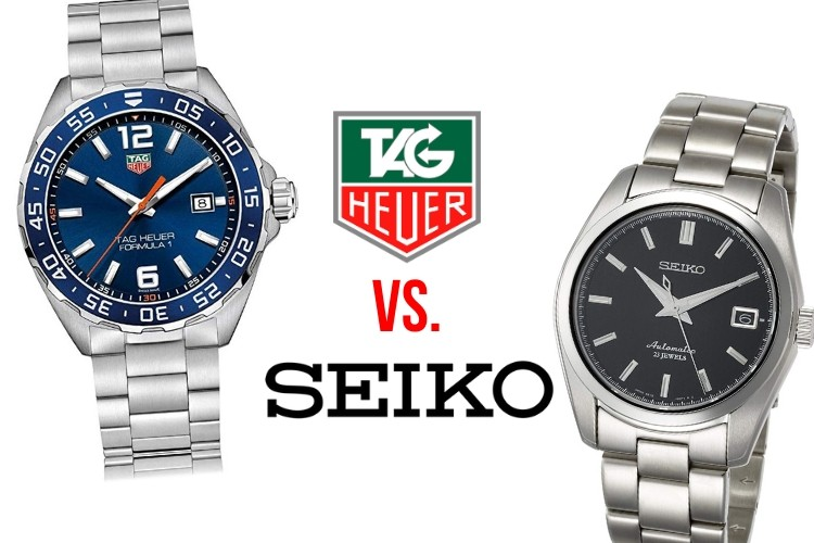 tag heuer vs seiko