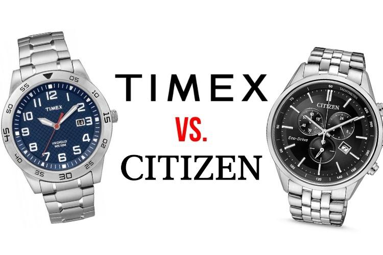 timex vs citizen