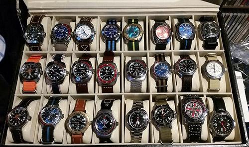 Vostok watch collection
