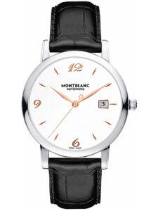 Montblanc 110717 Automatic White Dial