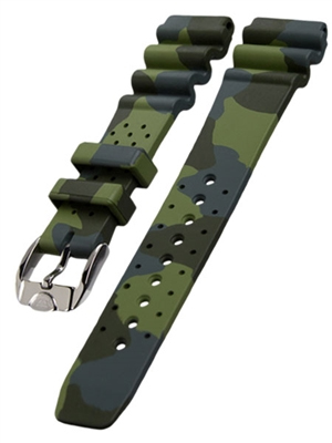 Squale 1521 Natural Rubber Dive Watch Strap