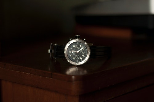 A TW Steel watch on the table