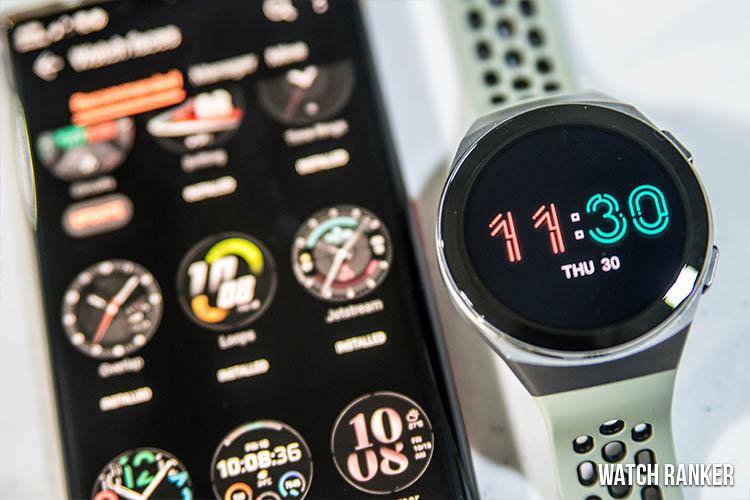 Huawei GT 2e watch faces Health App