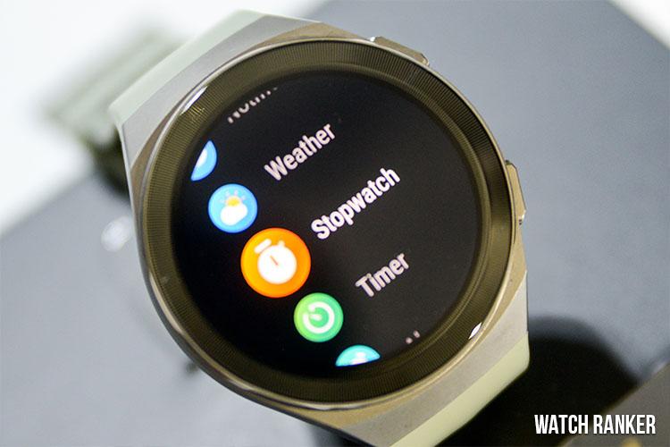Huawei GT 2e user interface