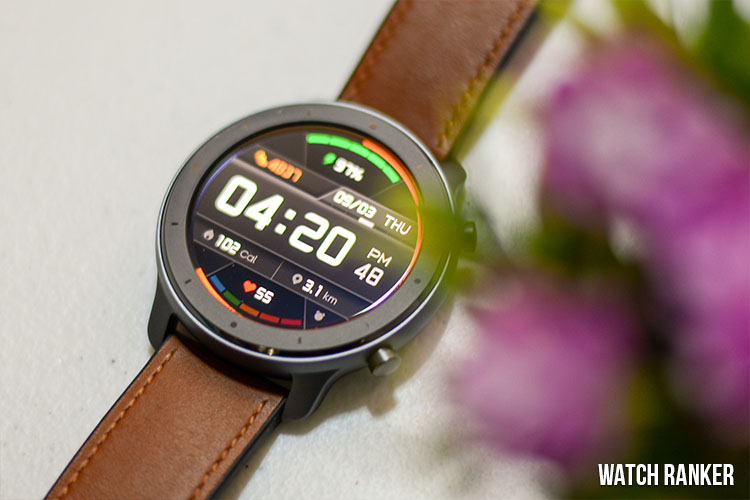 amazfit gtr screen 2 and default watch face