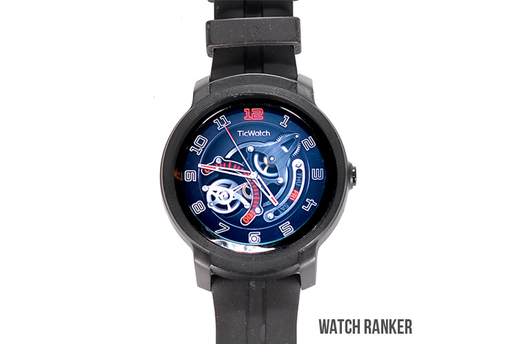 The TicWatch GTX Front View