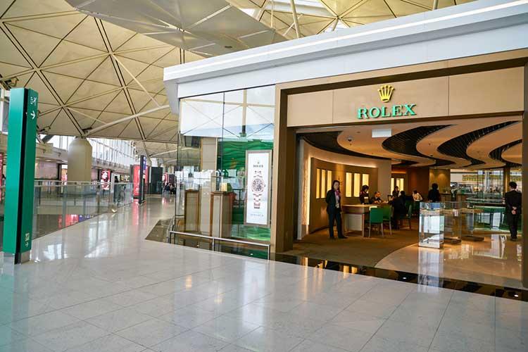 Hong Kong International Airport Rolex Store