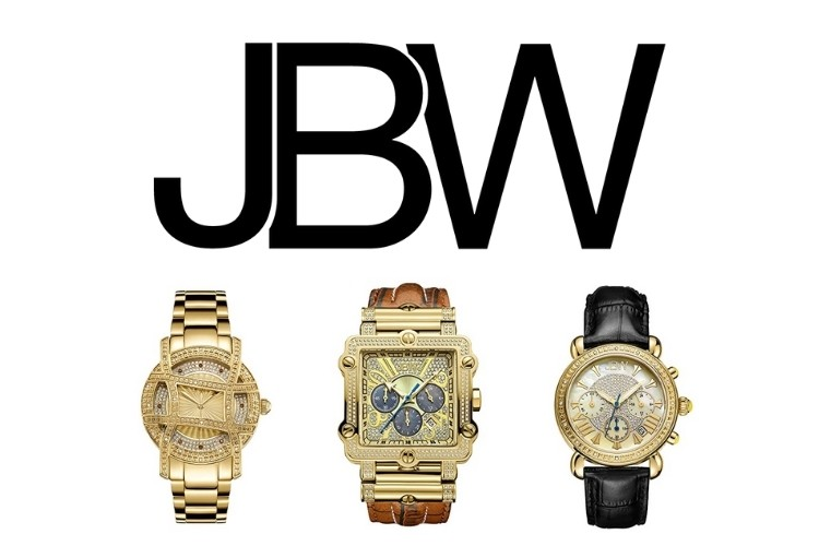 JBW logo and watches