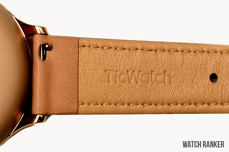 TicWatch C2+ Stock Leather Strap