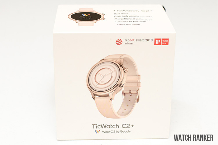 TicWatch C2+ Box and Accessories