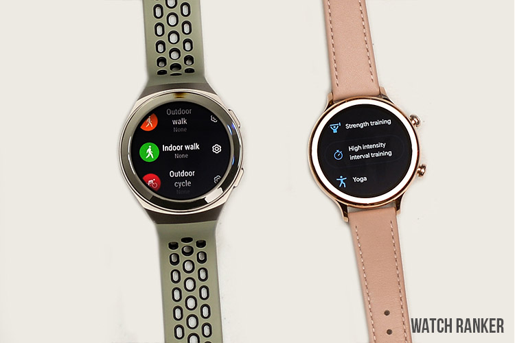TicWatch C2+ vs GT2e Health and Fitness Tracking
