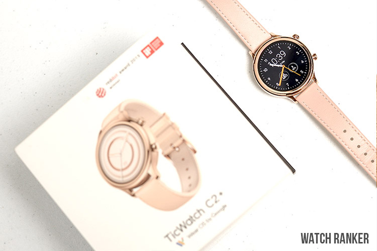TicWatch C2+ with box