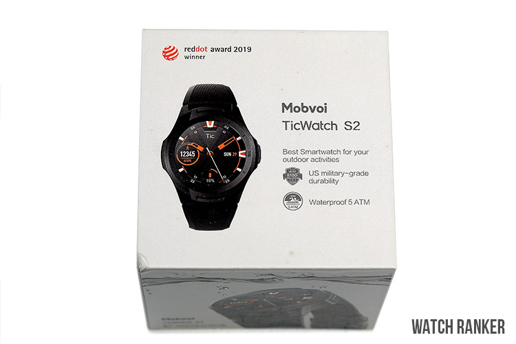 TicWatch S2 Packaging and Accessories