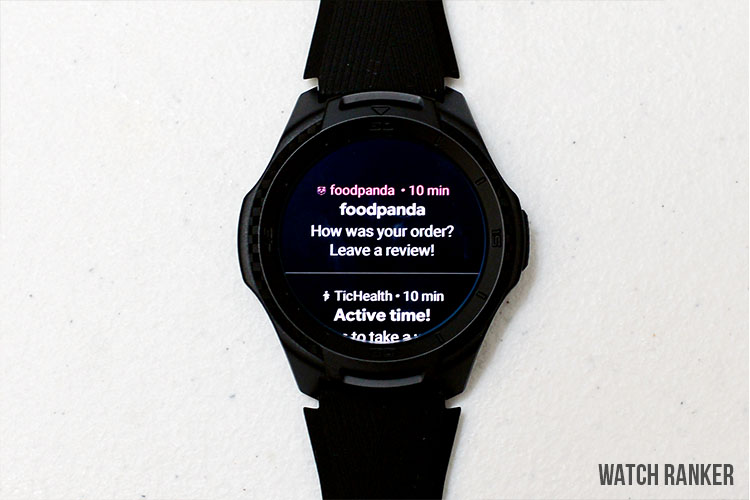 TicWatch S2 Notification System