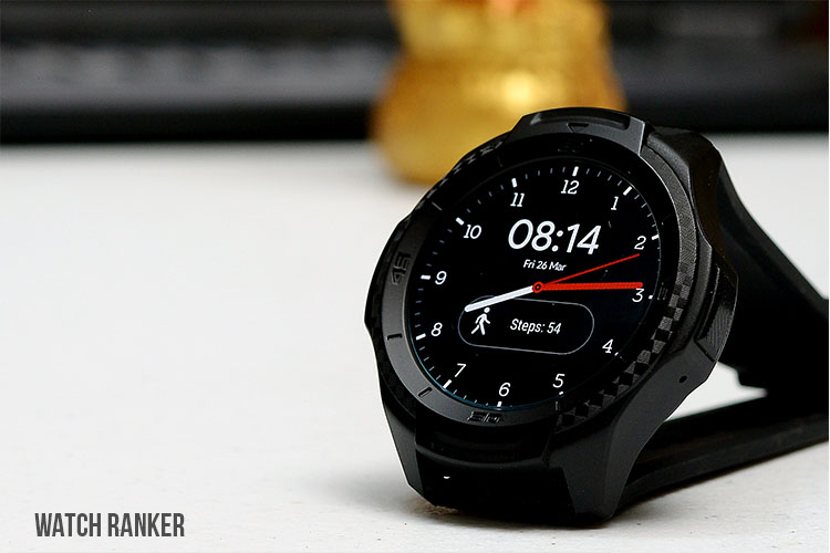 TicWatch S2 with AD Watch Face
