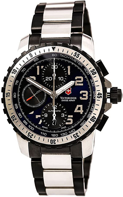 Victorinox Swiss Army Alpnach Automatic Mens Chronograph Sports Watch 241194