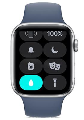 apple watch water lock feature