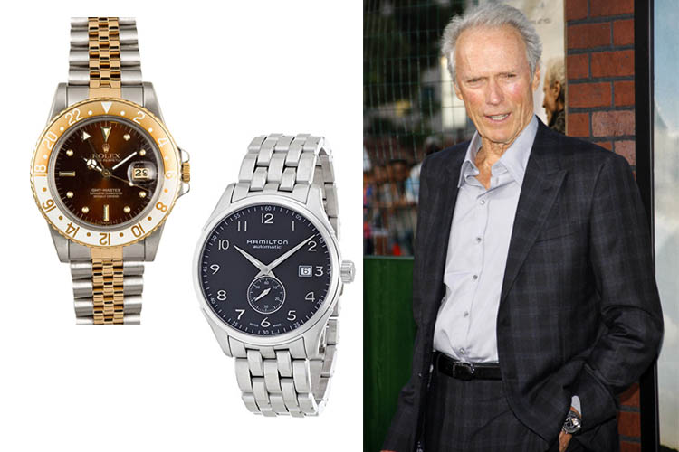 Clint Eastwood's Watches Celebrity Watch Collections