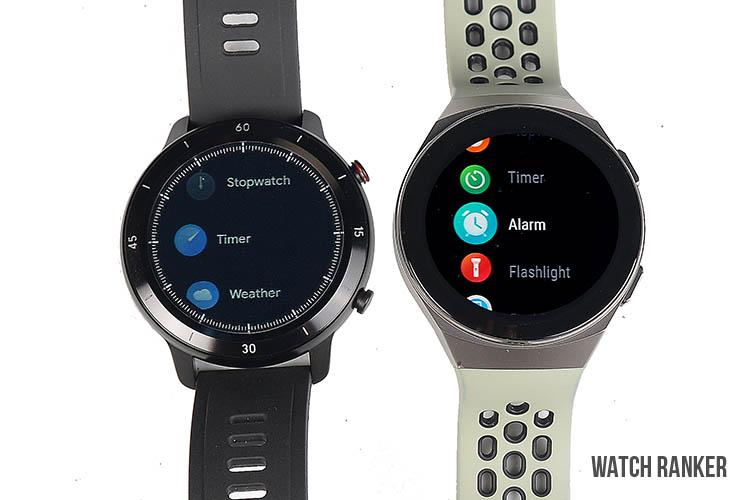 GTX vs GT2 smart feature menu