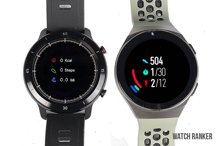 GTX vs GT2 health and fitness tracking