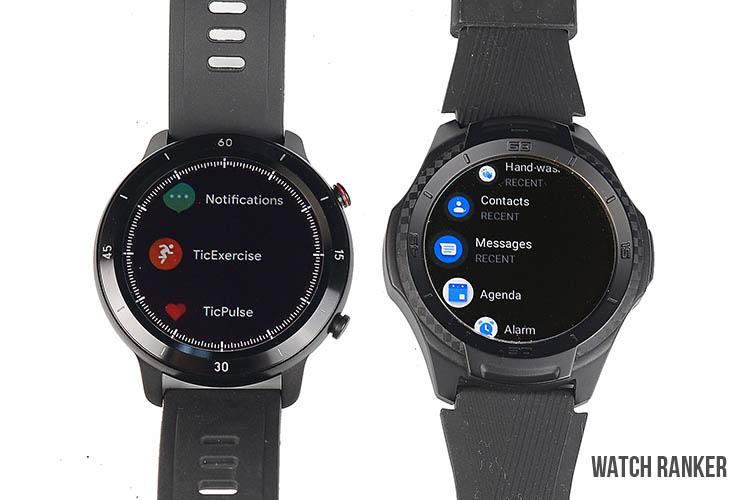 GTX vs S2 Watch Features