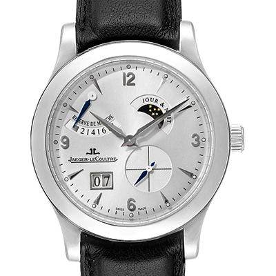 Jaeger LeCoultre Reserve De Marche 8 Days Stainless Steel