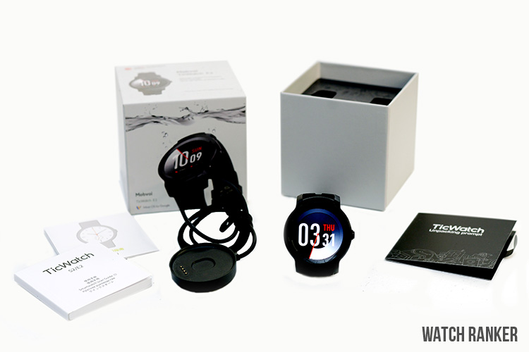 TicWatch-E2-packaging-accessories