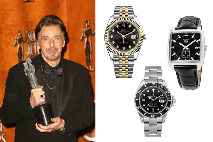Watches Worn by Al Pacino (Hollywood Watch Spotting)