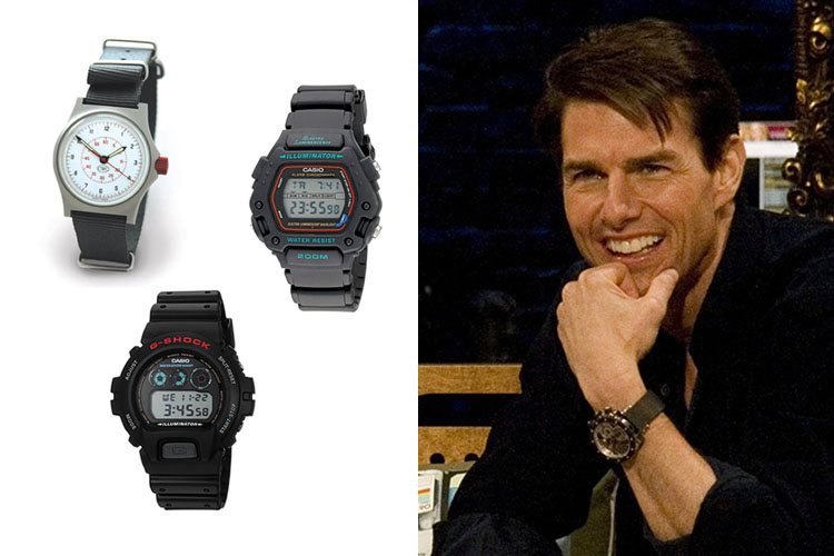 Watches Worn in Mission Impossible by by Tom Cruise