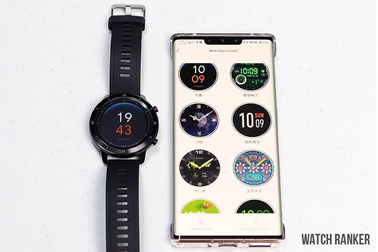 GTX smartwatch app