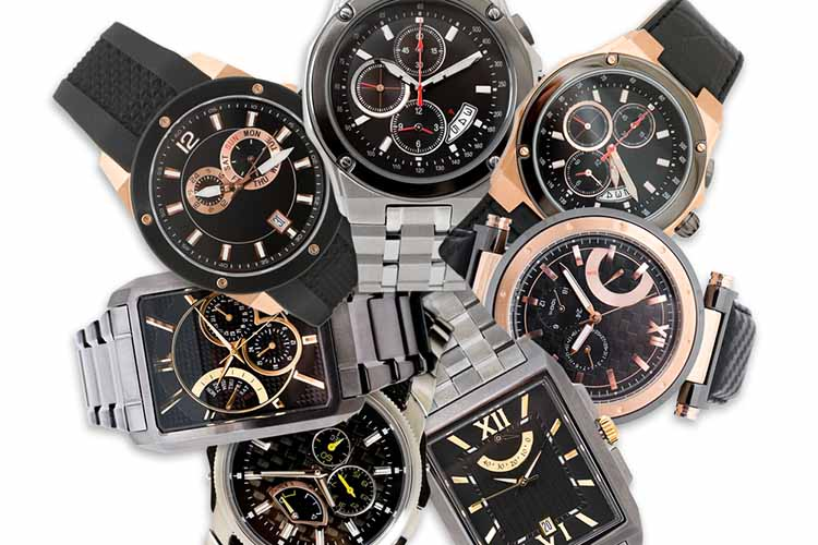 set of men's watches