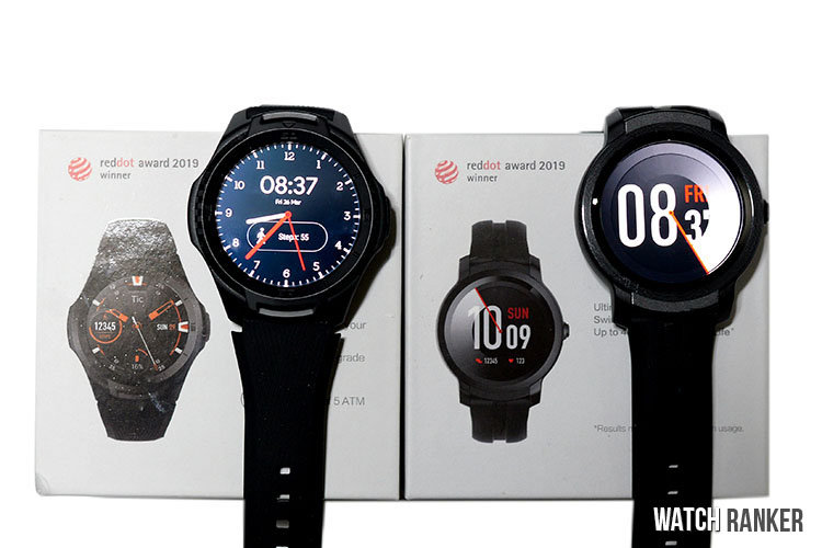 Mobvoi TicWatch S2 and E2 Packaging and Accessories