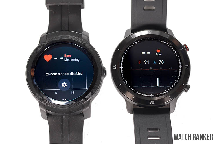 GTX and E2 health and fitness tracking