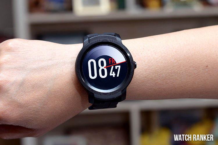 The Ticwatch E2 on Wrsit