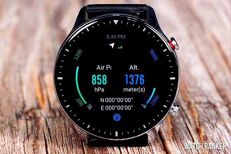 Amazfit GTR 2 Barometer