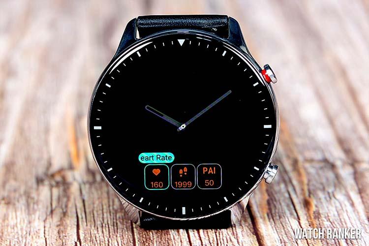 Amazfit GTR 2 Customizable Watch Face