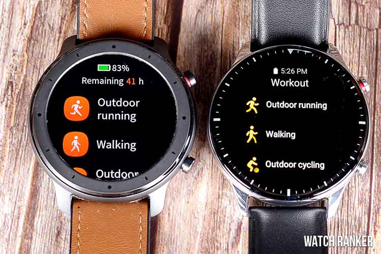 Amazfit GTR vs GTR 2 Health and Fitness Tracking Features